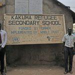 Project website for Kakuma Refugee Secondary School