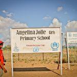 Project website for Angelina Jolie Secondary School